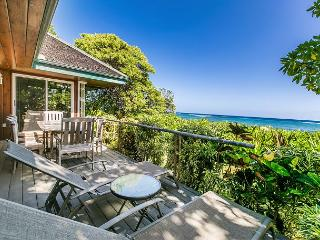 Niulani Oceanfront Beach House, Walk to Kapaa Town, APRIL STAY SPECIAL! - Kapaa vacation rentals