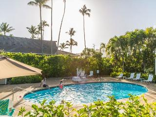 Plantation Hale D11, Air conditioned, king bed, walk to shops & restaurants! - Kapaa vacation rentals