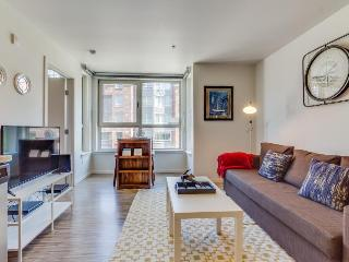 Dog-friendly condo w/ shared gym & roof deck with city and Space Needle views! - Seattle vacation rentals