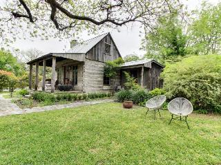 Romantic, historic cabin with koi pond, breakfast included - Fredericksburg vacation rentals
