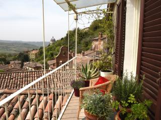 CHARMING MEDIEVAL TOWNHOUSE WITH BREATHTAKING VIEWS IN THE HISTORIC CENTRE TODI - Todi vacation rentals