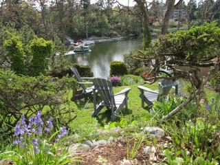 Waterfront Cottage with Terraced Garden and Dock - Victoria vacation rentals