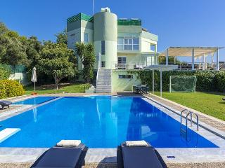 Comfortable 6 bedroom Nea Kydonia Villa with A/C - Nea Kydonia vacation rentals