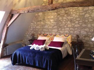 chambre aquarelle - la chambre baroque - Sainte-Maure-de-Touraine vacation rentals