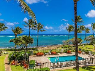 Kapaa Shore Resort #318, Ocean View, Top Floor, Great Views, Great Location! - Kapaa vacation rentals