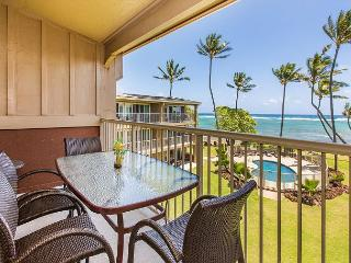 Kauai Kailani 308, Kapaa Oceanfront, Air Condition, Sunrise & Moonrise Views - Kapaa vacation rentals