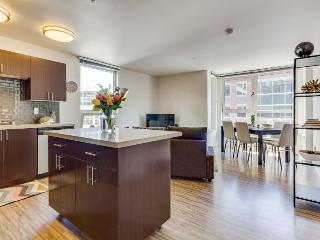 Dog-friendly condo with an ideal location, shared roof decks, a gym & game room! - Seattle vacation rentals