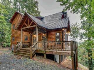 PRIVATE Cabin 3/3 with GREAT Mountain Views! - Cherry Log vacation rentals