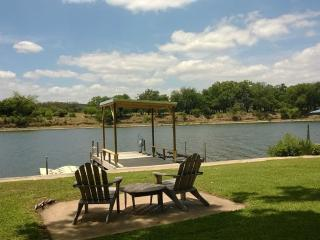 **New on Rental Market **Water Front home on Lake LBJ - Burnet vacation rentals