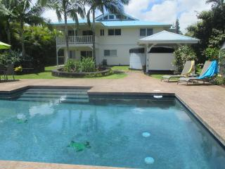 Custom Home w\POOL 1000 feet from the ocean! - Keaau vacation rentals