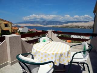 TH01304 Apartments Valentić / One Bedroom A1 - Pag vacation rentals