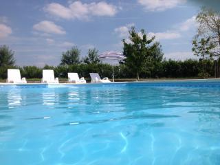 Beautiful stone barn with heated pool. sleeps 10 . - Aulnay vacation rentals