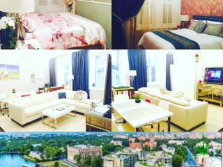 Prestigious Krestovsky 4 Rm Luxury Apartment Furni - Saint Petersburg vacation rentals