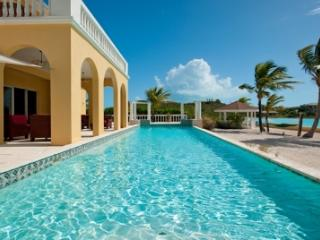 Spacious 5 Bedroom Beachfront Villa with Pool on Turtle Tail - Leeward vacation rentals