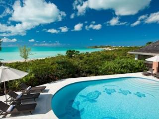 Secluded 4 Bedroom Beachfront Villa with Pool on Chalk Sound - Chalk Sound vacation rentals