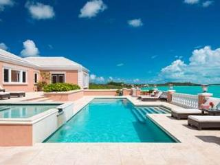 Dazzling 5 Bedroom Oceanfront Villa with Pool on Turtle Tail - Leeward vacation rentals