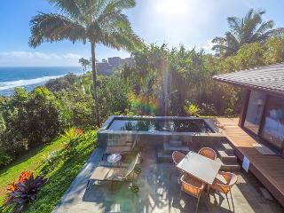 Ocean Bluff, Pristine Views! 3 bedroom, 4 bath w/Pool/Jacuzzi.  Spacious! - Princeville vacation rentals
