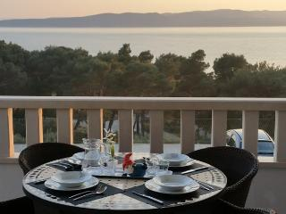 Apartments Ursic - A2 with open sea view I - Brela vacation rentals