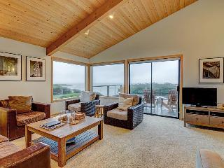 Elegant, dog-friendly, oceanfront home with decks, shared pool, hot tub & garden - Sea Ranch vacation rentals