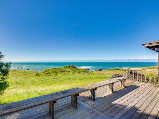 Dog-friendly home, w/sweeping ocean views, shared pool, & prime location! - Sea Ranch vacation rentals
