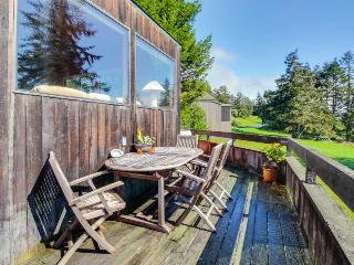 Hillside ocean-view home, w/private hot tub & large deck! - Sea Ranch vacation rentals