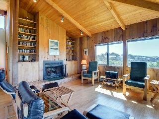 Contemporary coastal home with private hot tub, shared pool & ocean views! - Sea Ranch vacation rentals
