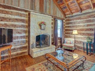 Dog-friendly cabin with a fireplace & tasting rooms on-site! - Luckenbach vacation rentals