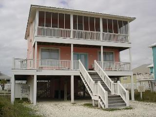 Morgantown beach house 4 bedroom 2.5 baths beachview - Fort Morgan vacation rentals