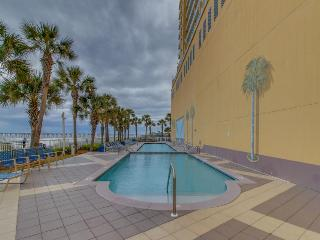 Oceanfront condo w/beach access, shared pool, & fitness center - amazing views! - Panama City Beach vacation rentals
