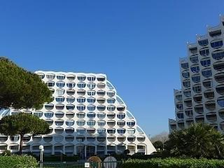 1 bedroom Apartment with Short Breaks Allowed in La Grande-Motte - La Grande-Motte vacation rentals