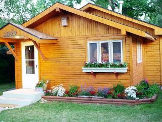 Charming House with DVD Player and Patio - Cody vacation rentals