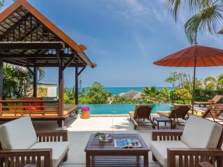THE RETREAT-5* luxury, private 4-bed-seaview villa-WOW!! - Choeng Mon vacation rentals