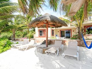 Casa Caracol Large Beachfront Villa, WiFi - Tulum vacation rentals