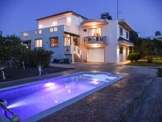 luxury villa fully equipped,with swimming pool - Kremasti vacation rentals