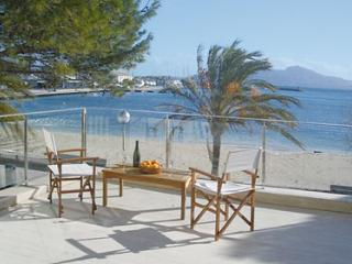 10332 Luxury Front Line Apartment large terrace ! - Port de Pollenca vacation rentals