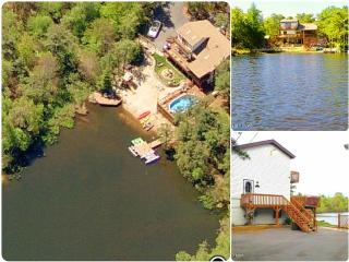 Lakefront w swimming pool, hot tub, beach, boats - Long Pond vacation rentals