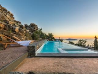 Ecofriendly villa with pool and panoramic sea view - Elounda vacation rentals