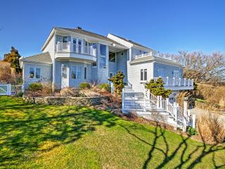 New Listing! Immaculate 6BR Montauk House w/Wifi, Private Outdoor Pool, Stunning Fireplace & Marvelous Ocean Views! Unbeatable Location - Near All Hamptons Attractions! Walk to the Beach! - Montauk vacation rentals