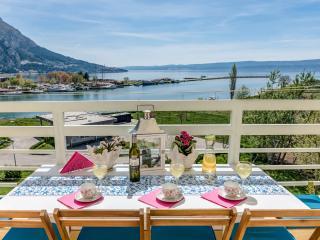 Beautiful sea view near send beach in modern attic - Omis vacation rentals