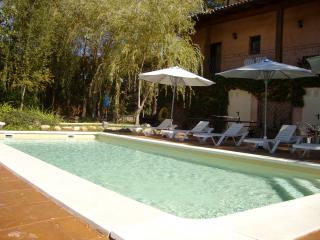 Beautiful holiday villa with saline pool - Sils vacation rentals