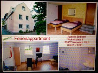Ferienwohnung am Rheinsteig in Neuwied - Neuwied vacation rentals