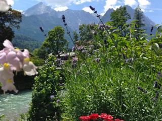 Steinberg 2, 60 qm, ruhige, zentrale Lage am Loisachufer, 2 Balkone, free wifi - Garmisch-Partenkirchen vacation rentals