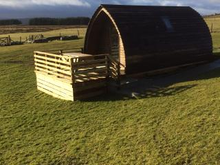 Nice Chalet with Deck and Central Heating - Lairg vacation rentals