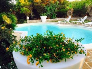 Villa Le Pigne vista mare piscina privata prato - Aegadian Islands vacation rentals