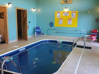 Indoor Heated Swimming Pool & 30 mile view - Pigeon Forge vacation rentals