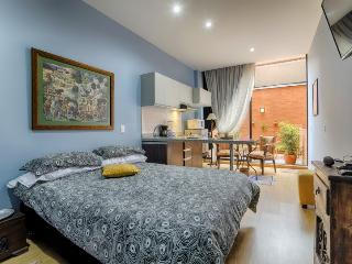 Designer Studio with Garden Terrace - Bogota vacation rentals