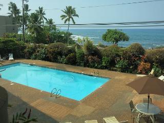 Holualoa Bay Villas: 106 Beautiful Oceanview, AC, Elevators, Wifi! - Kailua-Kona vacation rentals