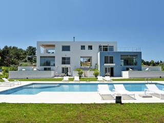 Greek VIllas Corfu - Dassia Beach Villa  an amazing beachfront villa with private pool and 5 bedroom - Corfu vacation rentals