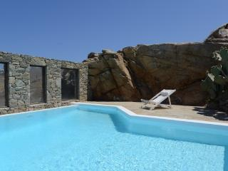 Mykonos - Villa La Paloma  -  shares a pool and has stunning views sleeps 6+ - Mykonos vacation rentals