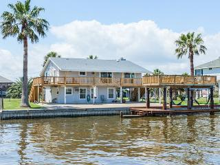 Canal-Front Home Near Galveston Bay – Private Patio & Boat Dock– Sleeps 10 - Galveston vacation rentals